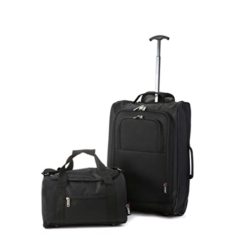 Ryanair Hand Cabin Approved 35x20x20   Second 55x40x20 Luggage Set - Carry  Both!  Amazon.co.uk  Luggage 61919c1d765b5