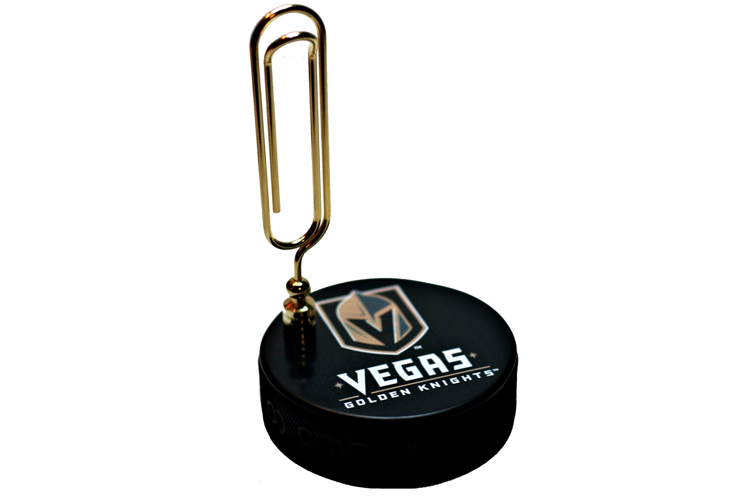 EBINGERS PLACE Las Vegas Golden Knights Basic Series Hockey Puck Note Holder