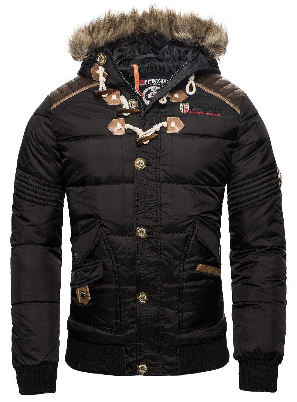 Geographical Norway Chaqueta de invierno para hombre acolchada