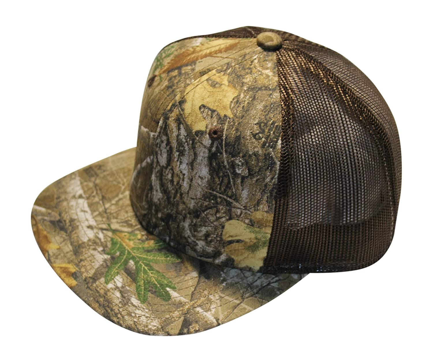 fdd8173f9a5972 Amazon.com : Realtree Camo Trucker Hat Meshback Snapback Cap : Sports &  Outdoors