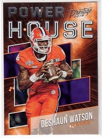 Amazon.com: DeShaun Watson Insert 2017 NFL Draft Clemson Tigers ...