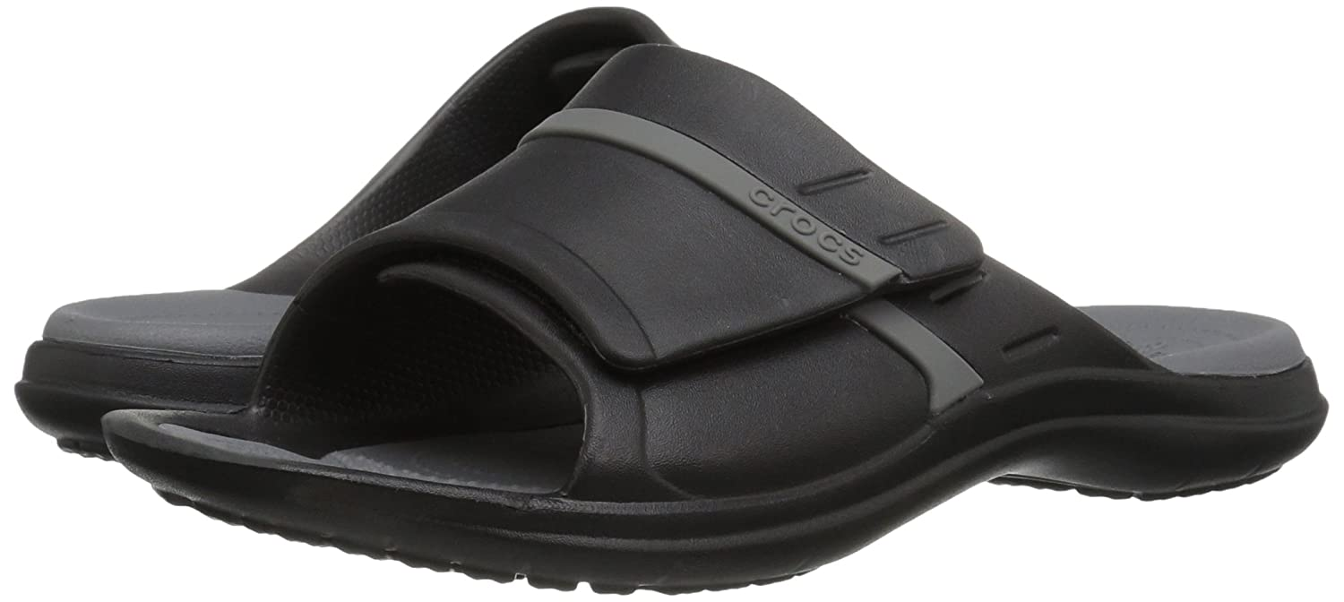 separation shoes cdafb 4293e Crocs Unisex Modi Sport Slide Negro   grafito