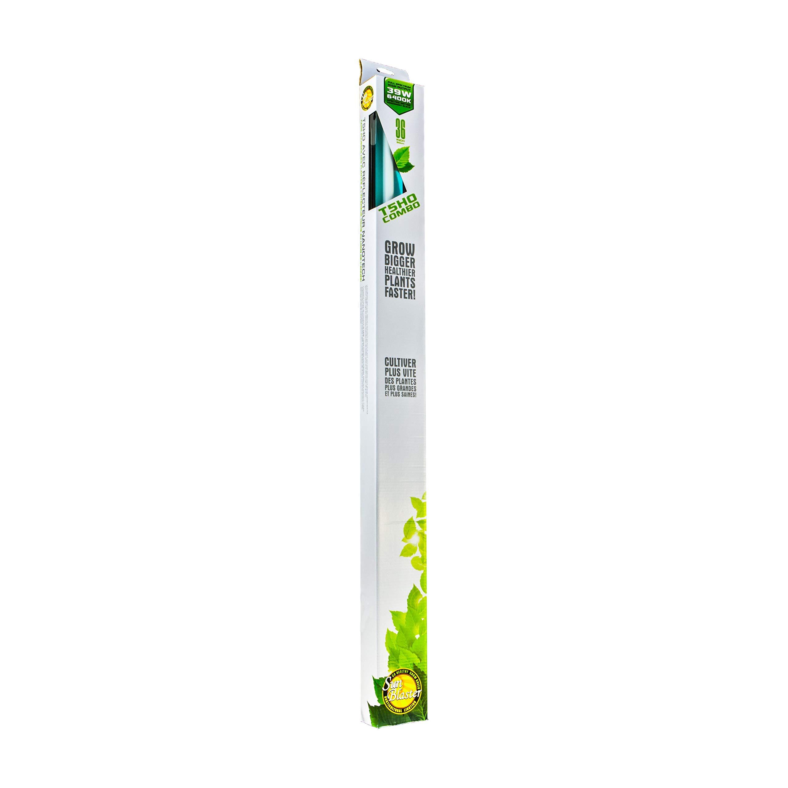 Sunblaster 904297 NanoTech T5 High Output Fixture Reflector Combo, 3-Feet by SunBlaster