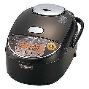 ZOJIRUSHI IH pressure rice cooker 5.5 Go (825g) NP-ZF10-TD (Dark Brown)