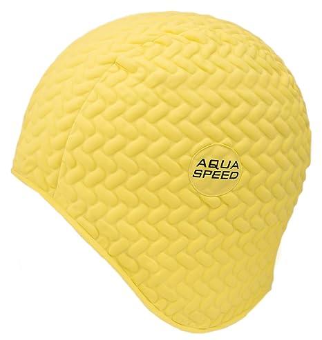 Aqua Speed AQUASPEED® BOMBASTIC TIC TAC Cuffia di bagno (Nuoto Lattice di  gomma Protezione 262d5ec24ad2