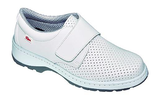 Dian Milan SCL Picado SRC O1 FO - Zapatos Sanitarios - Talla 34 - Blanco
