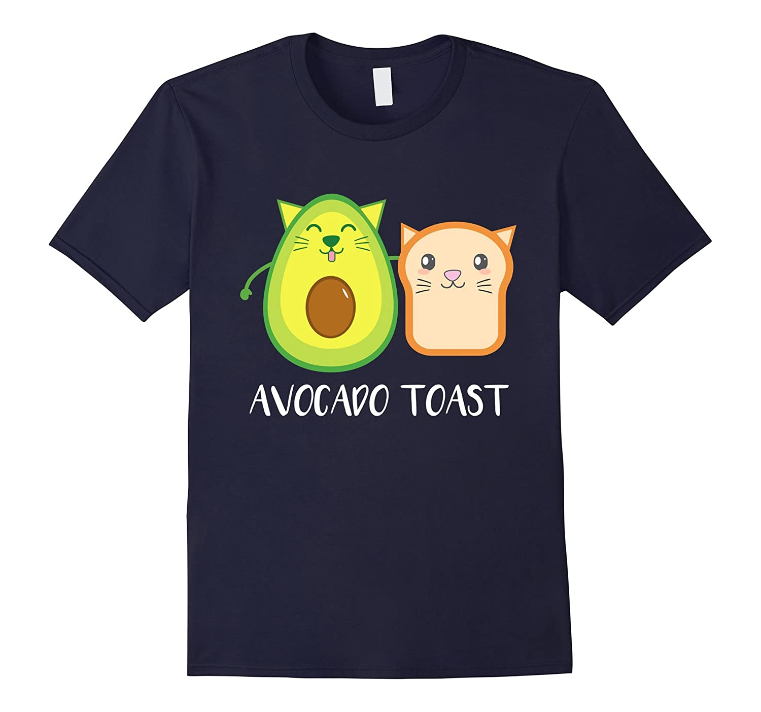 Avocado Cat & Toast - Vegan Funny T Shirts-CL