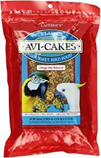 product image for Lafeber's Avi-Cakes Gourmet Bird Food for Macaws & Cockatoos, 16 oz.