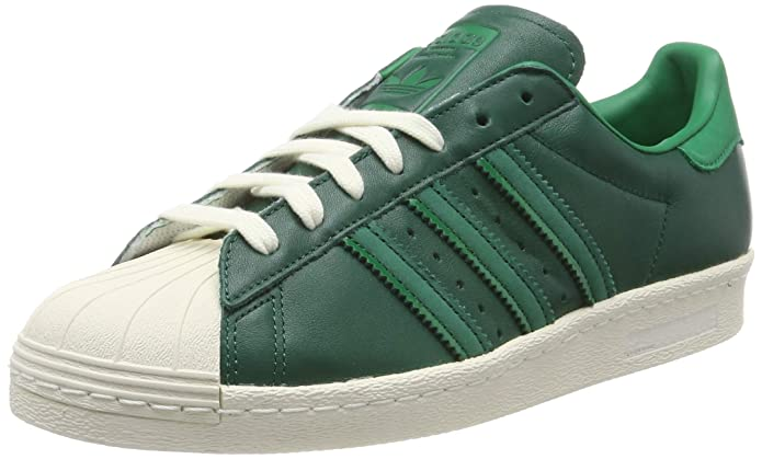 adidas Superstar Schuhe Herren Low-Top Grün (Collegiate Green)