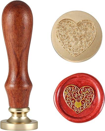 1pcs Peacock Feather Metal Stamp  Wedding Wax Seal Stamp  Sealing Wax Stamp WS071 Wax Seal Stamp