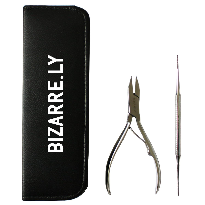Amazon.com: Ingrown Toenail Remover Tool Kit by Bizarre.ly ...