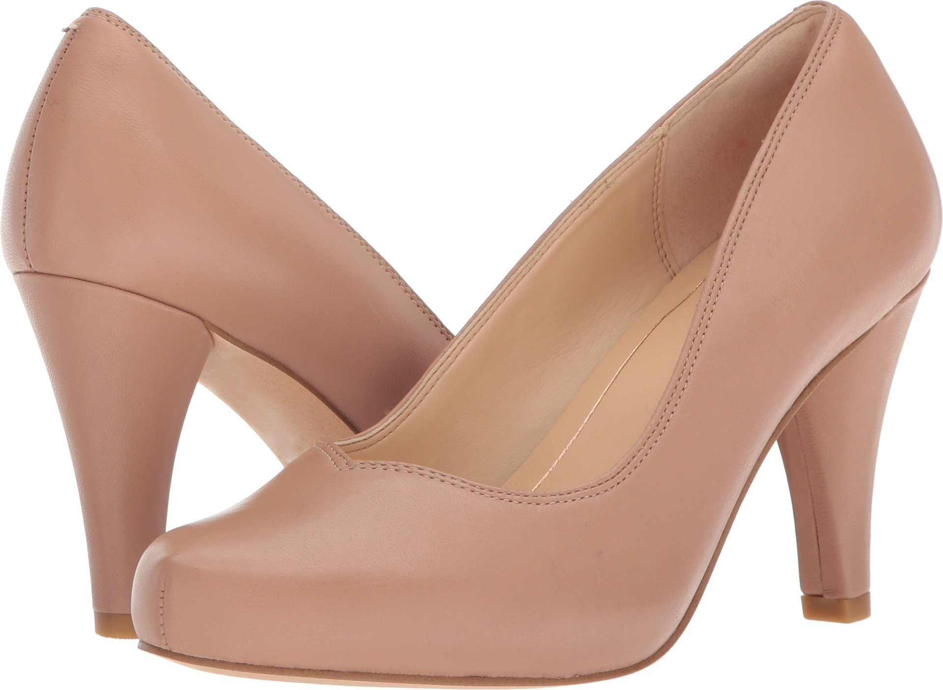 CLARKS Women's Dalia Rose Nude Leather 8.5 B US