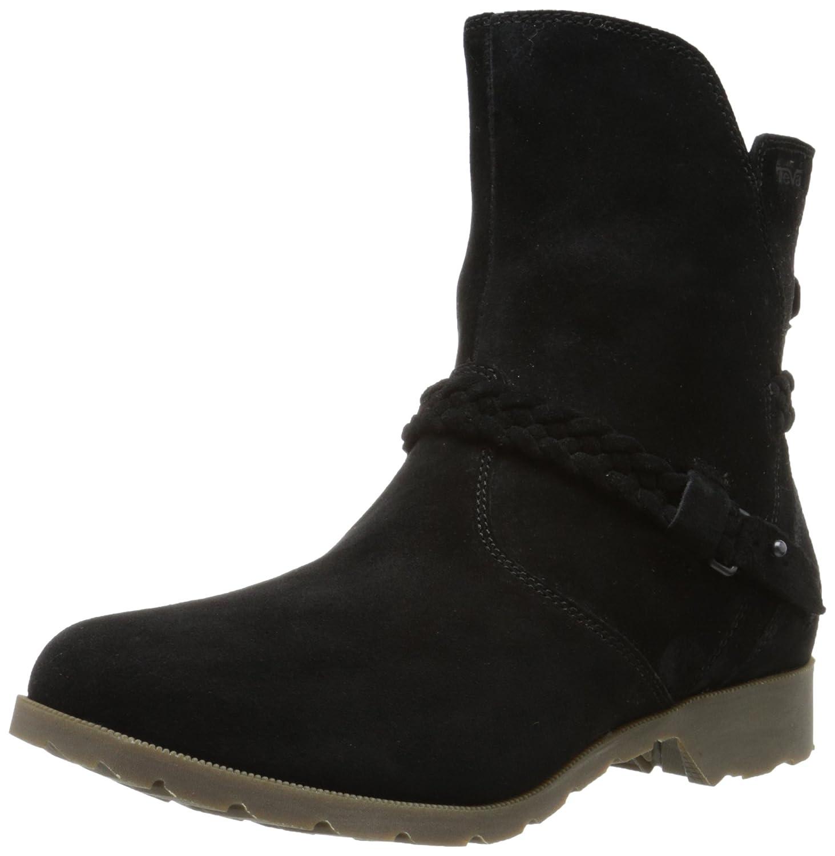 Black Teva Women's Delavina Suede Boot