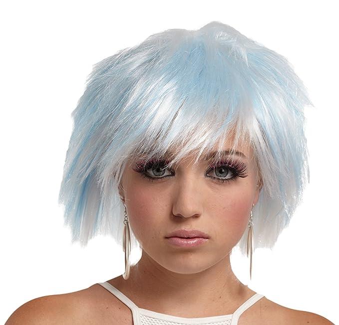 Amazon.com: UHC lindo de la mujer punky Pixie estilo peluca ...