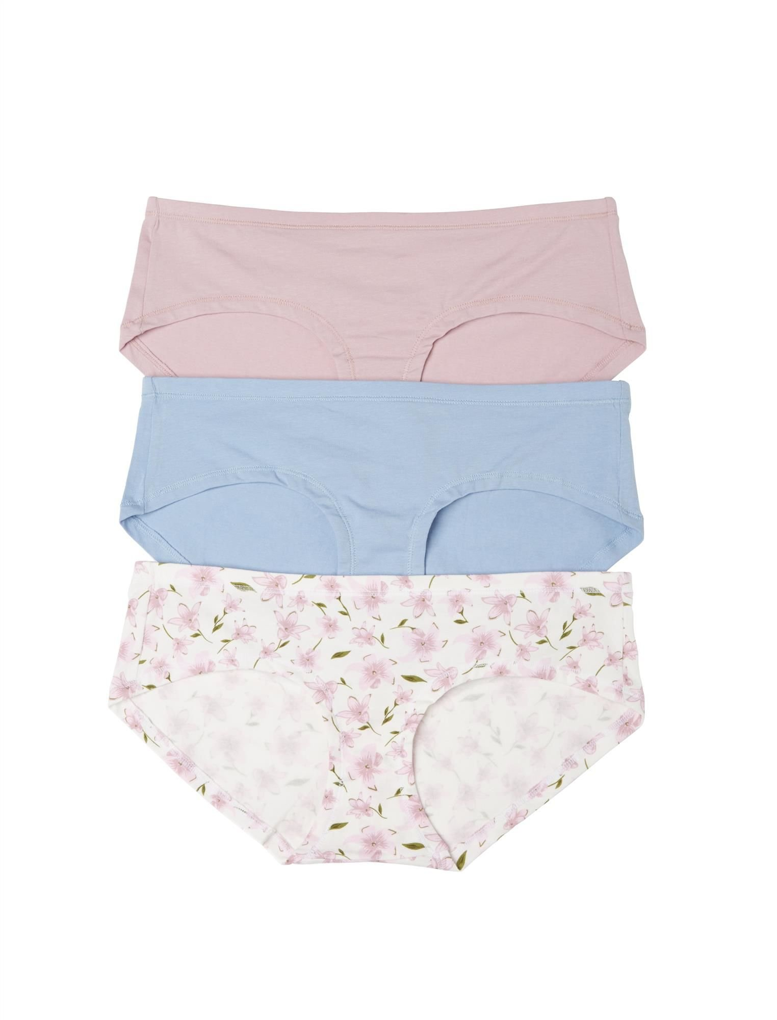Motherhood Maternity Hipster Panties (3 Pack)