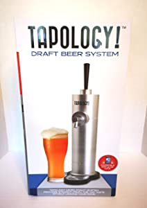 Tapology Micro Foaming Beer Tap System - Silver