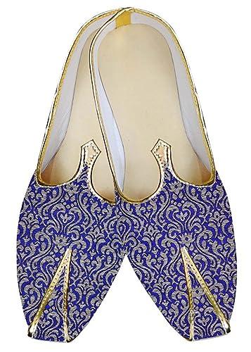 Mens Royal Blue Wedding Shoes Beautiful MJ015034