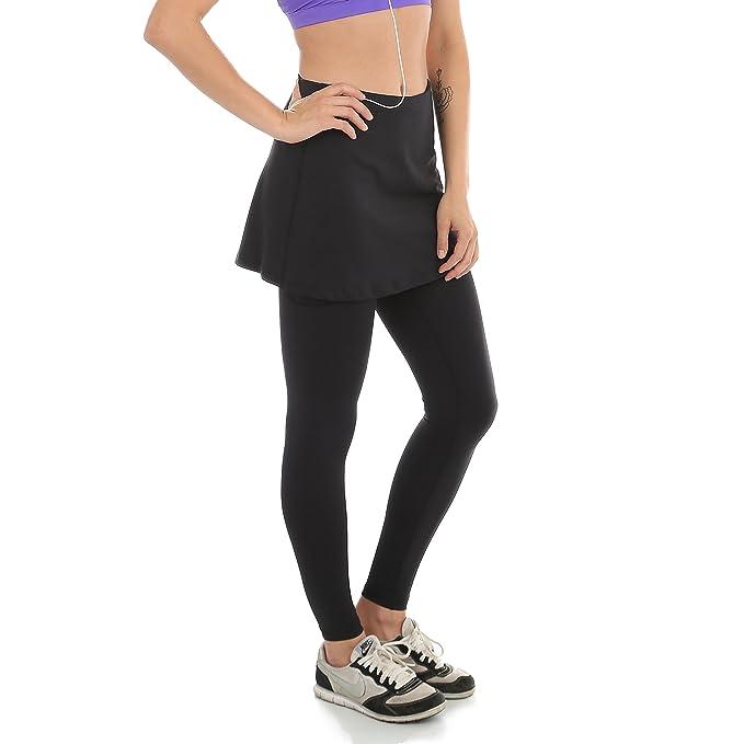detailed images buying cheap new photos Sport-it Women's Leggings Skirt, Skirted Leggings, Active Skirt with  Pockets, Running Skort