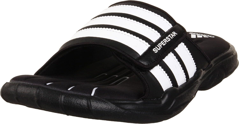adidas superstar sandals black