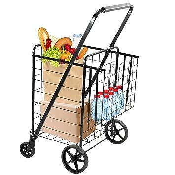Amazon.com: Montaje: Carro de la compra para alimentos y ...