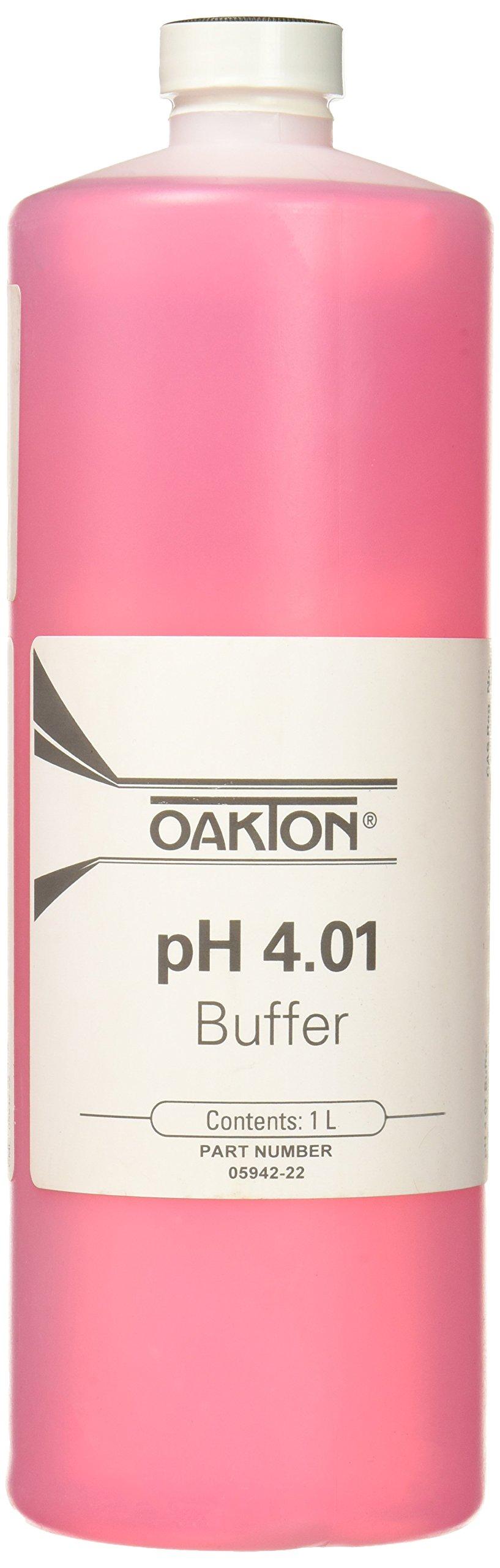 Oakton WD-05942-22 Oakton Calibration Buffer, 4.01 Standard, 1 L Capacity