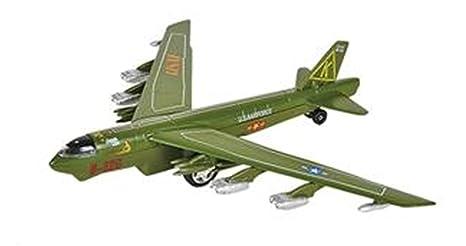 X Planes Air Force Die cast PULLBACK B-52G PLANE Vietnam B-52 Bomber 7 5