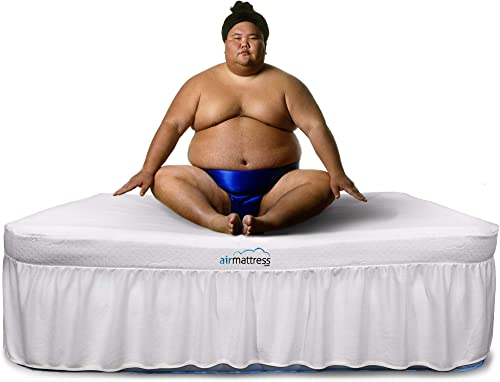 Air Mattress could support up to 600 lbs