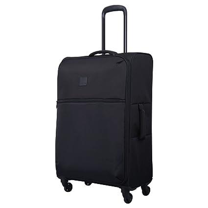 3b64ab00f Tripp Black Ultra Lite 4 Wheel Medium Suitcase: Amazon.co.uk: Luggage