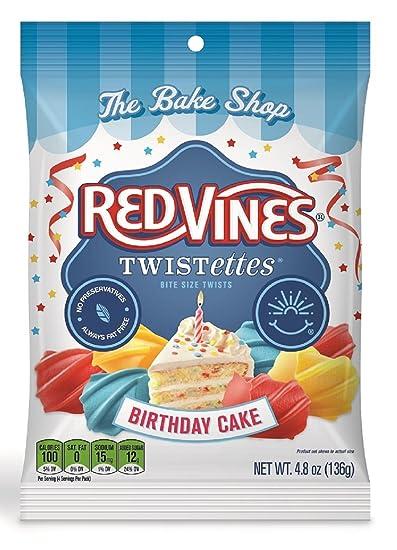 Amazon red vines birthday cake licorice twistettes 48oz bag red vines birthday cake licorice twistettes 48oz bag 12 pack ccuart Images