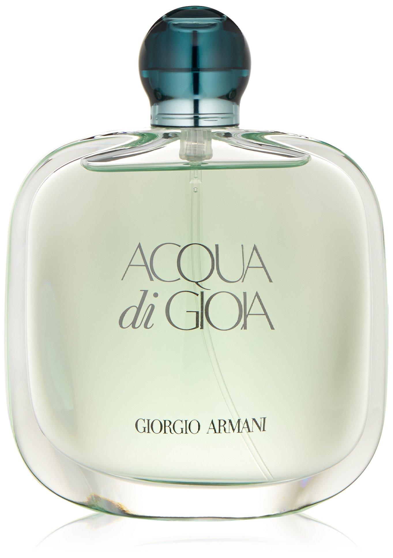 Giorgio Armani Acqua Di Gioia Eau de Parfum Spray for Women, 3.4 Fluid Ounce