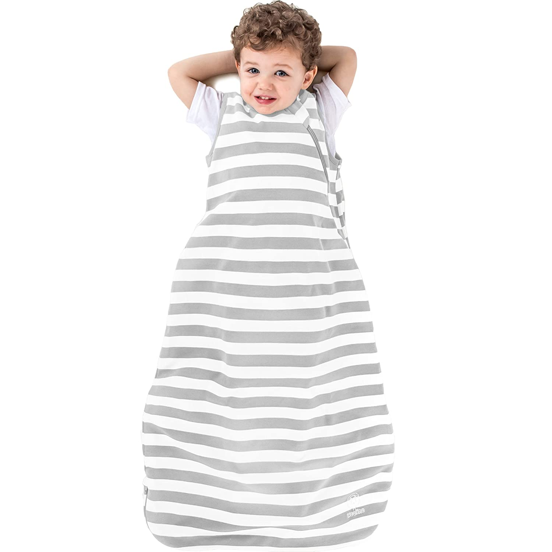 Organic Cotton Baby Sleep Bag or Sack, Newborn Sleeping Bag, 0-6 Mo, Blush Woolino COT007