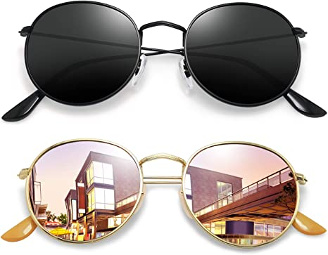 Free Amazon Promo Code 2020 for Vintage Round Sunglasses for Women