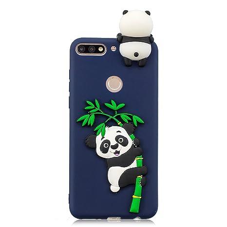 Amazon.com: Huawei Honor 7c Case, DAMONDY 3D Panda Cute ...