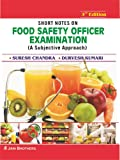 Shorts Notes on Food Safety Officer Examination (PB)
