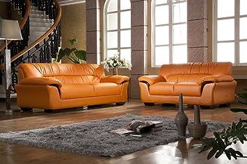 Design Voll Leder Sofa Couch Garnitur Polstermöbel Sessel 327 32