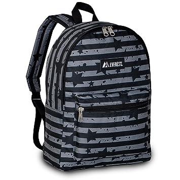 bd885b2697e9 Everest Basic Pattern Backpack, Star Stripe