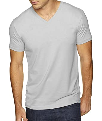 4dba510f0 Amazon.com: Next Level Apparel 6440 Mens Premium Fitted Sueded V ...
