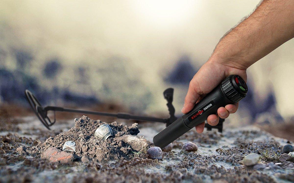 Makro Pointer - Detector de metales Resistente al agua IP 67 Detección de 360º: Amazon.es: Industria, empresas y ciencia