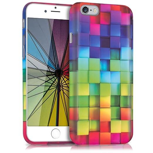 51 opinioni per kwmobile Cover per Apple iPhone 6 / 6S- Custodia in silicone TPU- Back case
