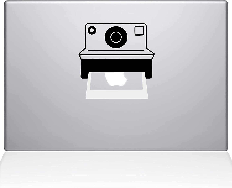 "The Decal Guru 2085-MAC-15P-NA Polaroid Camera Decal Vinyl Sticker, 15"" MacBook Pro (2015 & Older),"