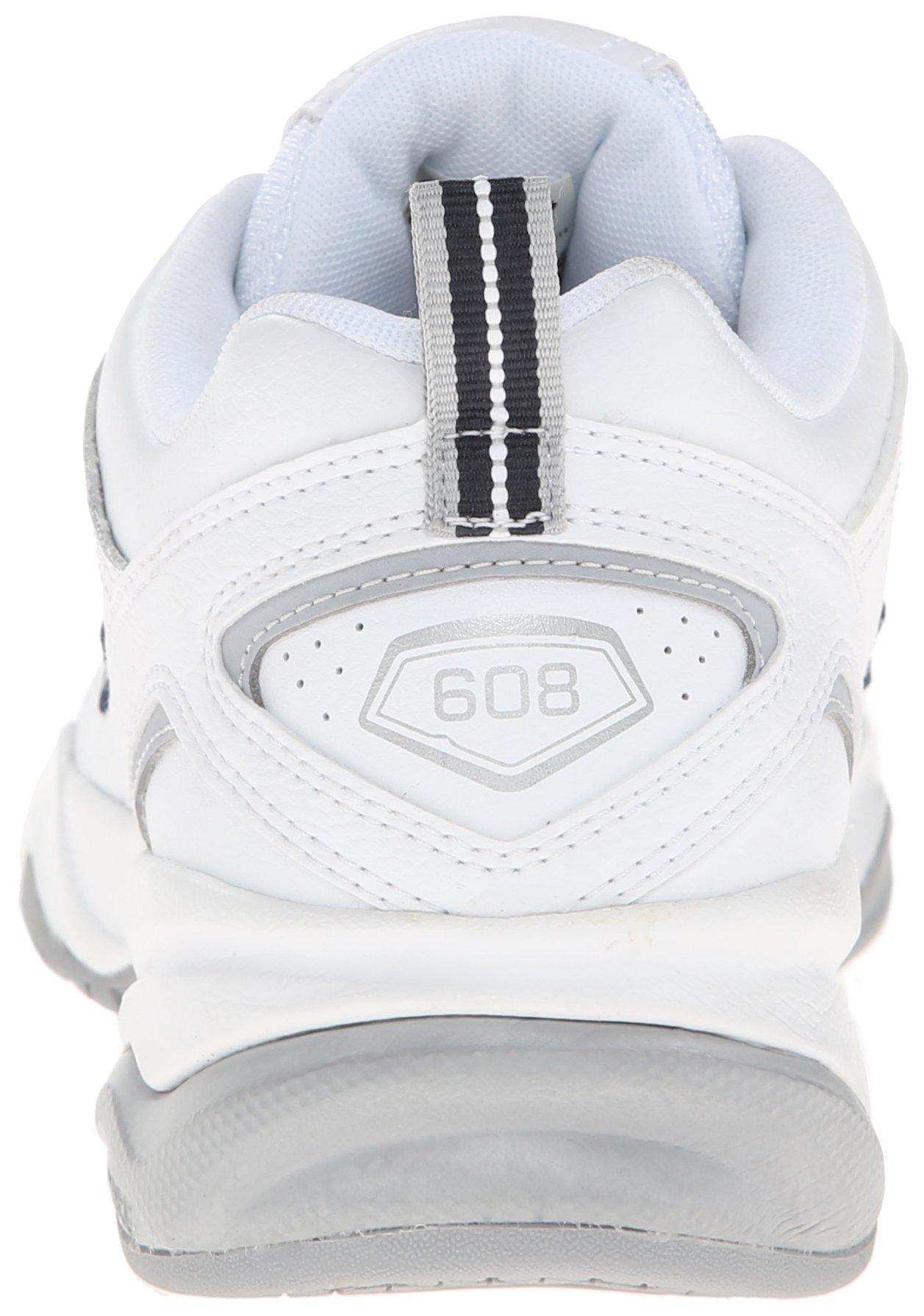 New Balance Women's WX608v4 Training Shoe, White/Navy, 8.5 D US by New Balance (Image #2)