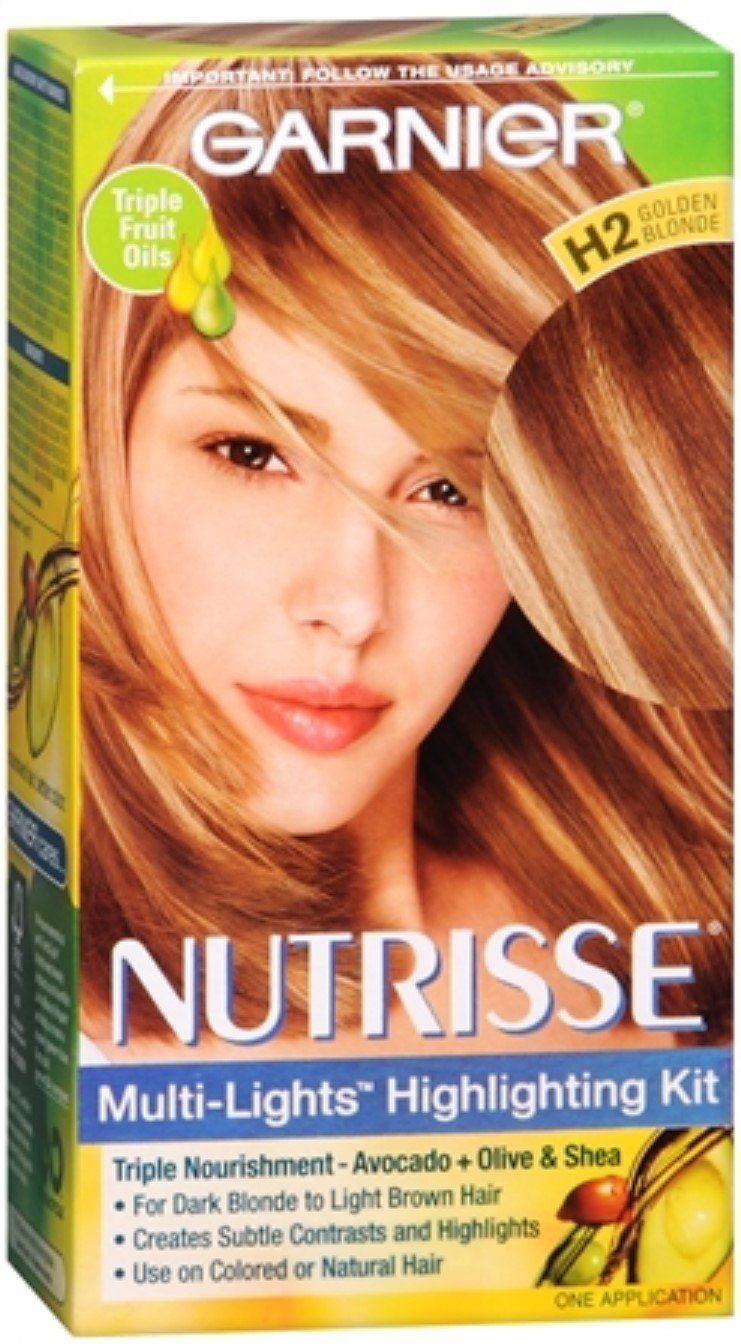 Garnier Nutrisse Haircolor - Multi-Lights H2 Golden Blonde 1 Each (Pack of 11)