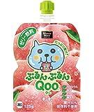 コカ・コーラ ミニッツメイド ぷるんぷるんQoo クー もも ゼリー飲料 パウチ 125g×6本