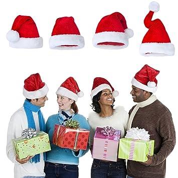 Araus Unisex Navidad sombreros fiesta Festive familia decoración ...