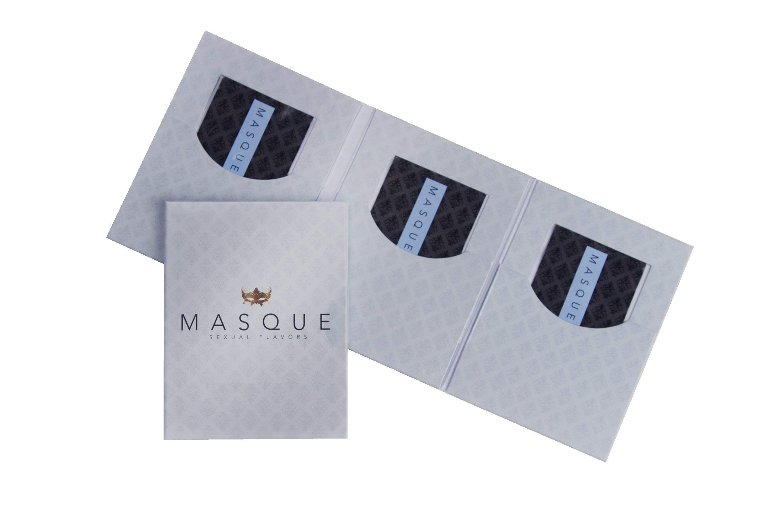 Masque Mango Sexual Flavors Singles Wallet - Total of 3 Strips by Masque International LLC