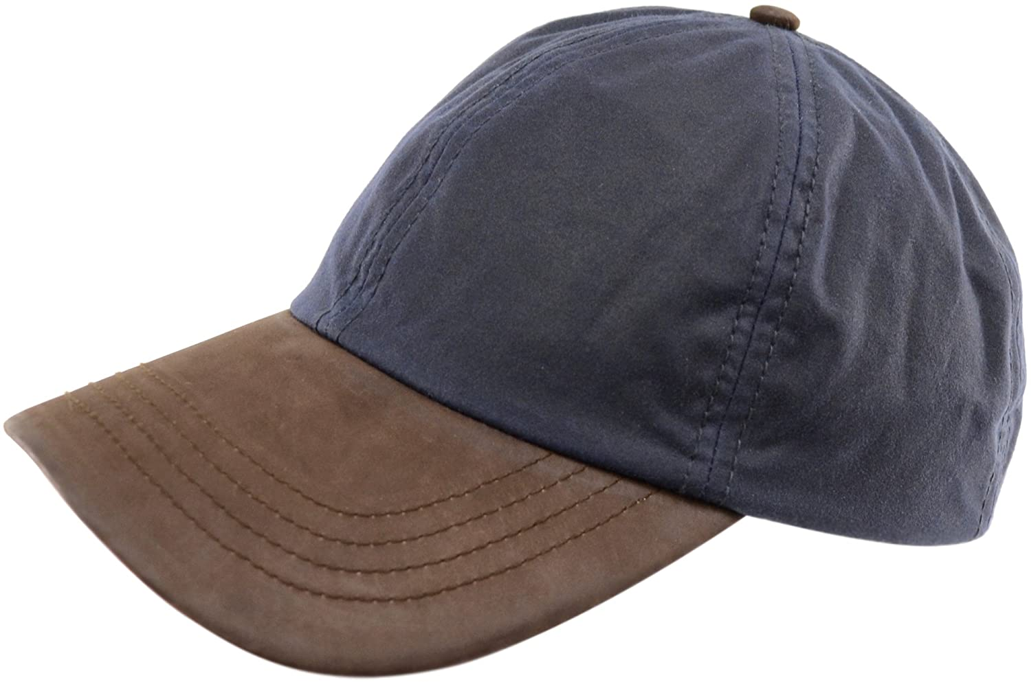 Mens Gents Wax Waterproof Baseball Cap Hat with Leather Peak. Made in the  UK - Navy  Amazon.co.uk  Shoes   Bags 848ed127999