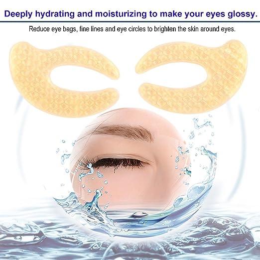 Amazon.com: Colágeno Máscara de ojo, quitar ojeras ...