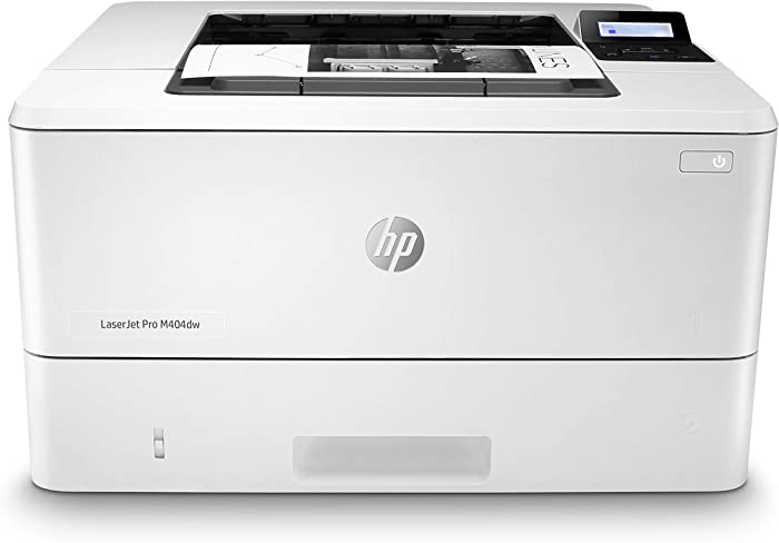 HP LaserJet Pro M404dw Monochrome Wireless Laser Printer with Double-Sided Printing, Black, Works with Alexa (W1A56A)