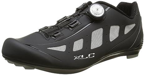 XLC adulti Pro Road Shoes CB R06, Unisex, Pro Road Shoes CB R06, nero/grigio, 47