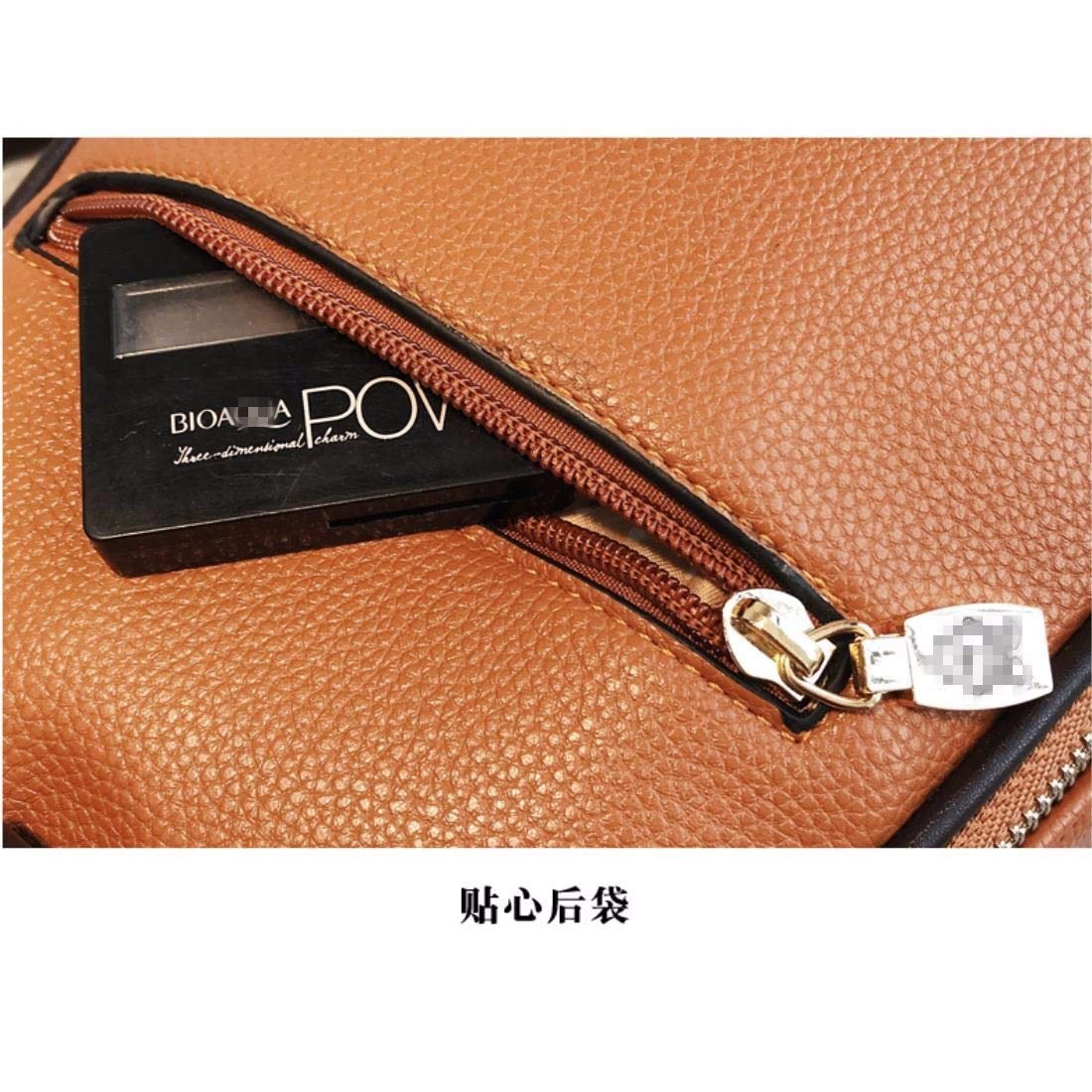 Color : Red IANXI Home Fashion Ladies Pu Leather Top Handle Bags Tote Shoulder Handbags for Women